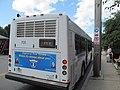 MBTA route 713 bus on Veterans Road, July 2015.JPG