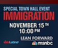 MSNBC and Voto Latino town hall on immigration (November 15, 2010).jpg