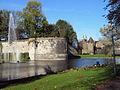 Maastricht, Stadspark met rondeel De Vijf Koppen en Jekertoren.jpg