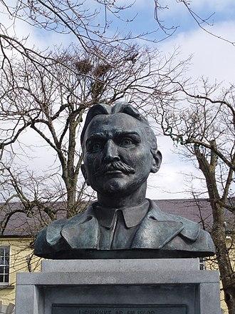 John MacBride - Statue of John MacBride (1868-1916) in his native Westport, County Mayo, at South Mall