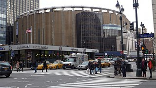 Madison Square Garden Multi-purpose indoor arena in New York City