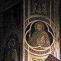 Maestro della cappella bracciolini (senese o pistoiese), storie di maria e santi, 1400-25 ca., santo francescano.jpg