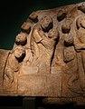 Maestro di cabestany, morte, glorificazione a assunzione della vergine, 1160 ca. (ville de cabestany) 02.jpg