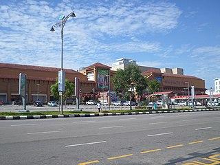 Mahkota Parade Shopping mall in Melaka, Malaysia