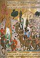 Mahoma Y Sus Seguidores, Parten Hacia La Meca.- Miniatura Del Siyer-i Nabi. Estambul ,segunda Mitad Del S.XVI.jpg