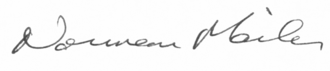 Norman Mailer - Image: Mailer signature