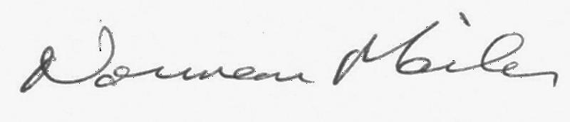 Mailer signature