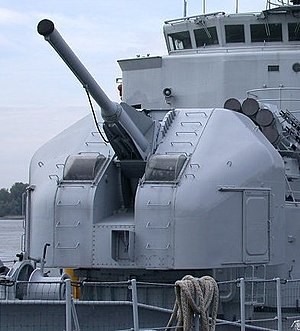 French 100 mm naval gun