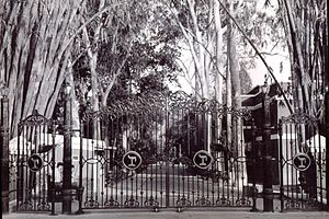 The Doon School - Main gate of the Doon School.