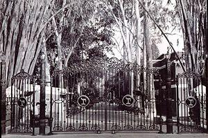 The Doon School - Main gate of the Doon School.