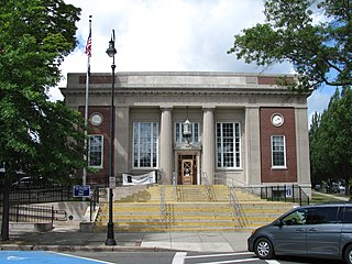 United States Post Office–Wakefield Main United States historic place