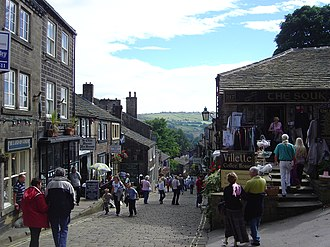 Haworth - Haworth village centre