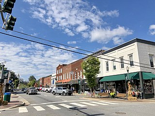 Sylva, North Carolina Town in North Carolina, United States