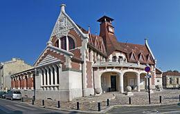 Maison cantonale de la bastide wikip dia for Maison bordeaux bastide