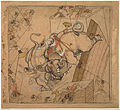 Maker unknown, India - An Elephant Combat - Google Art Project.jpg