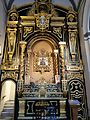 Malaga iglesia de San Juan -fRF entrada a la Sacristia & Ntra Sra del Perpetuo Socorro.jpg