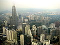 Malaysia - 059 - KL - Overlooking the city from KL Towers observation deck (3528071537).jpg