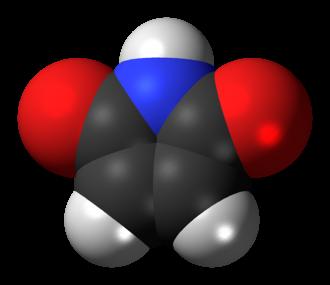 Maleimide - Image: Maleimide molecule spacefill