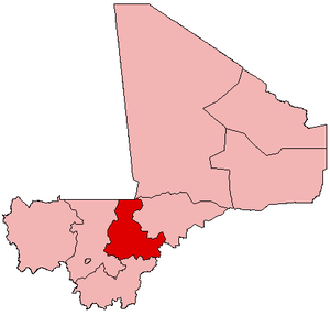 Location within Mali