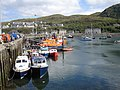 Mallaig harbour, fishing boats and lifeboat - geograph.org.uk - 2308718.jpg
