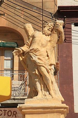 Vincenzo Dimech - Statue of Saint Andrew, Marsaxlokk (1791)