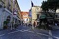 Malta - Valletta - Republic Street - View along St. John's Square.jpg
