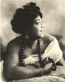 Mamie Smith 20th-century American vaudeville singer and actress
