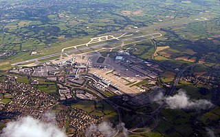 Manchester Airport Airport in Manchester, England