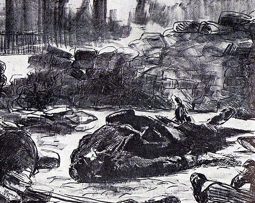Manet.Guerre civile