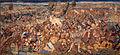 Manif. di bruxelles su dis.di bernart von orley, arazzi della battaglia di pavia, fuga dei francesi e diniego degli svizzeri, IGMN144485, 1526-31.JPG