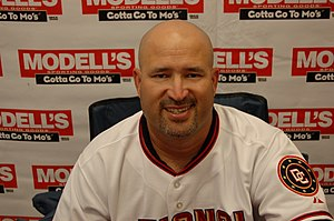 Manny Acta - Acta as manager of the Washington Nationals in 2007.