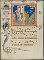 Manuscript Leaf with the Martyrdom of Saint Bartholomew, from a Laudario MET DP148560.jpg