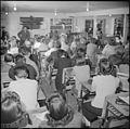 Manzanar Relocation Center, Manzanar, California. In one of the school rooms at the Manzanar Center . . . - NARA - 536716.jpg