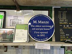 Photo of Michele Manze blue plaque