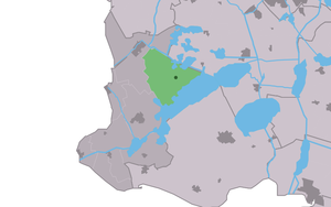It Heidenskip - Image: Map NL Nijefurd It Heidenskip