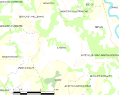 Map commune FR insee code 64272.png
