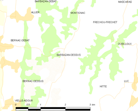 Map commune FR insee code 65063.png