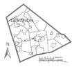 Map of Lebanon County, Pennsylvania No Text.png
