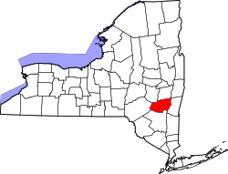 Map of New York highlighting Greene County.svg