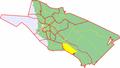 Map of Oulu highlighting Juurusoja.png