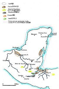 Map of Putun trade route and terminal-classc or early postclassic maya sites.jpg