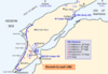 Map of Turkish forces at Gallipoli April 1915 (Kemals-HQ).png