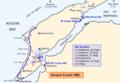 Map of Turkish forces at Gallipoli April 1915 (Kemals-HQ).png