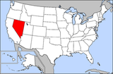 Map of USA highlighting Nevada.png