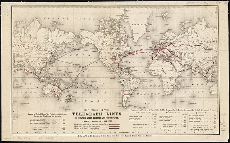 File:Map showing the telegraph lines in operation, under contract, and contemplated, to complete the circuit of the globe (8346430055).jpg