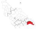 Mapa de El Caney en Santa Rosa de Osos.png