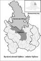 Mapa správního obvodu obce s rozšířenou působností Vyškov - czech republic.png