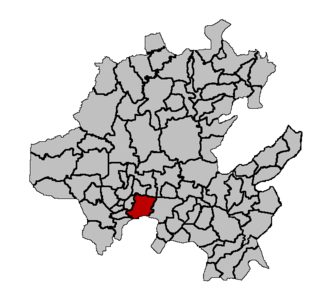 Ajacuba Municipality in Hidalgo, Mexico