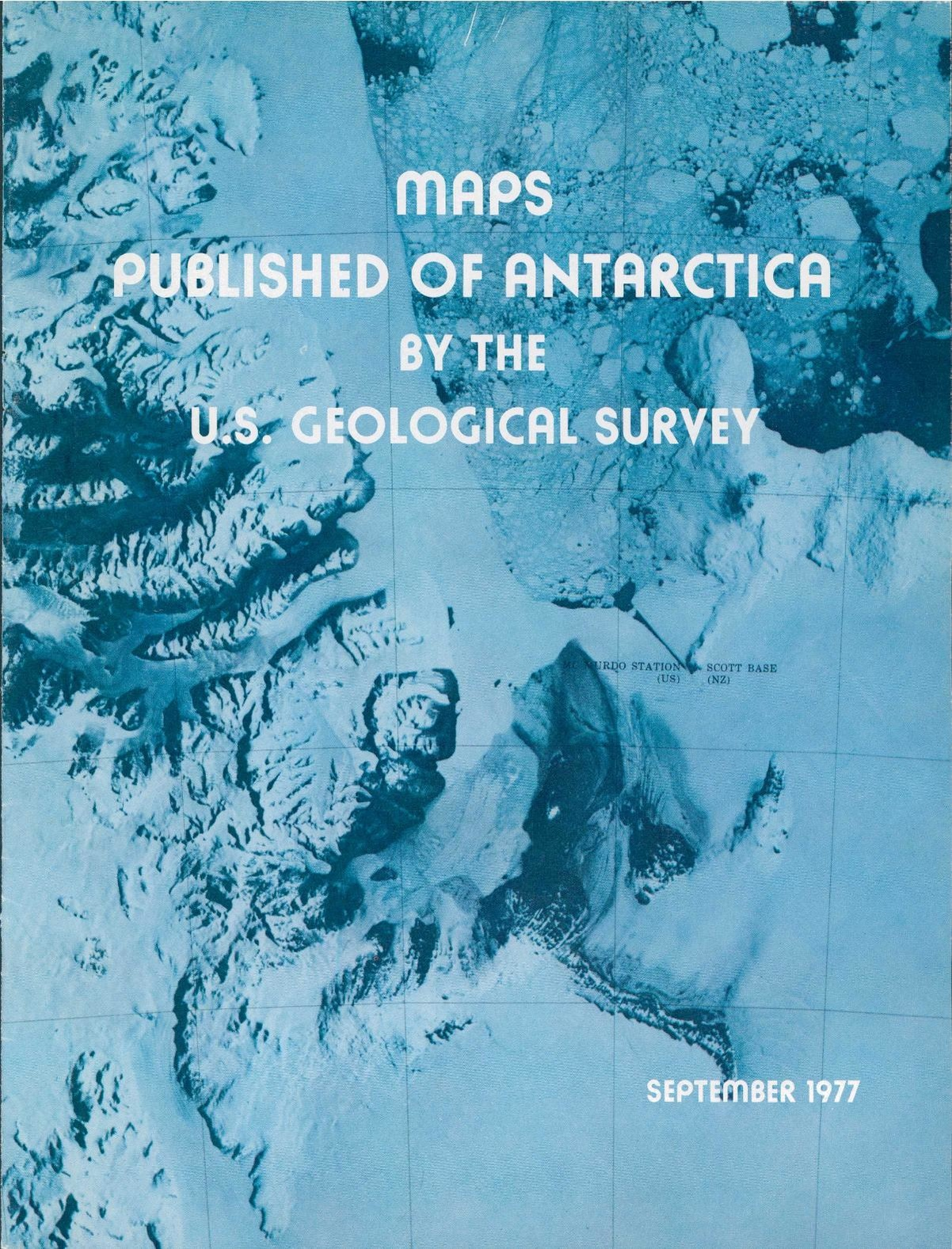 Filemaps Published Of Antarctica By The Us Geological Surveypdf - Us-geologic-survey-maps