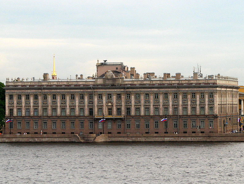 795px Marble Palace 02 - São Petersburgo, Capital Cultural da Rússia